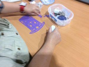Chassisprototyp für einen Roboter-Workshop für die Sommeruniversität